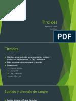 tiroides presentacion