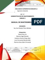 Manual de Mantenimiento Panificadora.pdf