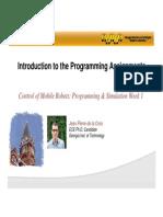 Programming & Simulation Lecture 1 Slides