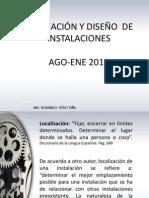 Unidad i Planeación y Diseño de Instalaciones
