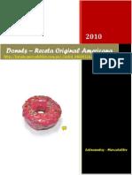 Donuts ÔÇ_Receta Original AmericanaÔÇØ