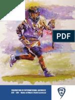 Lacrosse rule book 2015-16