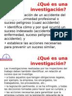 Tema Investigacion de Accidentes