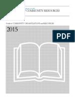 Community Resource Directory 2015
