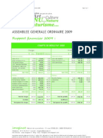 Rapport Financier a.G. Imaginat