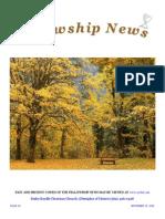 September 15, 2015 The Fellowship News