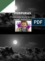 PÚRPURAS (DERMA)