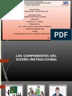 Componentes Del Diseño Instruccional.