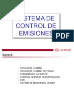 Sistema de Control de Emisiones a vehiculos KIA