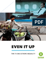 Oxfam. Even It Up. Time to End Extreme Inequality. October 2014