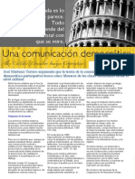 Investigación 3. La empresa necesita una comunicación democrática