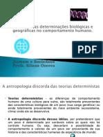 HOMEM -Determinacoes Biologicas e Geograficas