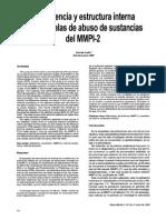 Mmpi 2 Sustancias
