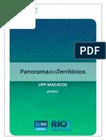 UPP Macacos. 2014