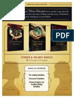 Stoker & Holmes Teacher Guide Fall 2015