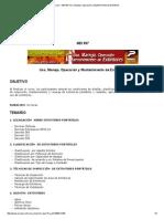 Curso _ MEI 597 Uso, Manejo, Operación y Mantenimiento de Extintores
