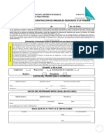 Registro de Obra Ejecutada x Acuerdo