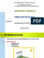PRECIPITACION - HIDROLOGIA