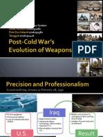 Evolusi Persenjataan Pasca Perang Dingin