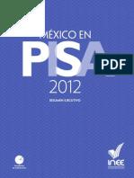 Mexico PISA 2012 Resumen Ejecutivo