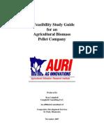 Kajian Kelayakan Pembuatan Pellet Biomass