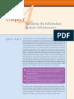 Managing The Information System Infrastruktur