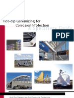 Hot-Dip Galvanizing for Corrosion Protection