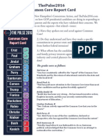 Common Core Report Card One-Pager