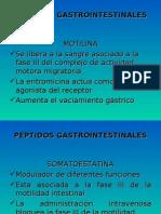 PEPTIDOS GASTROINTESTINALES