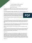OPC Minority Report 1 on Paedocommunion