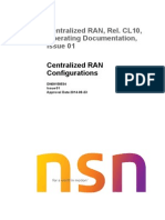 Centralized RAN Configurations