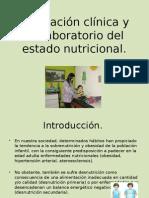 Evaluación Clínica y de Laboratorio Del Estado Nutricional (1)