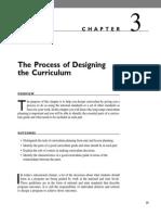 Process of Designing a Curriculum