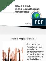 Fundamentos Sociológicos Do Comportamento