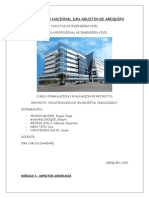 Hospital Oncologico, Trabajo Final 2015