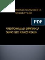 Educación a Distancia ACREDITACION en CALIDAD - Version 03.11.11