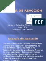 Energia de Reaccion