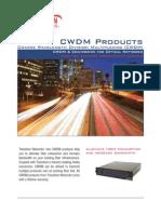 CWDM Brochure