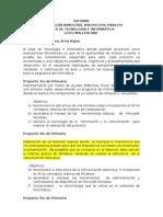 Informe de Proyectos Finales Informatica[1]