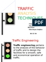 Traffic Analysis Techniques