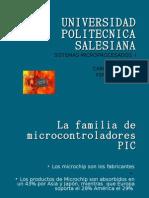 La Familia de Microcontroladores PIC