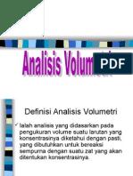 Volumetri (Kuliah 7) STIKES