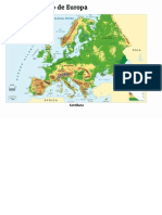 Mapa Fc3adsico de Europa