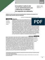 Proteina C Reativa (PCR-As