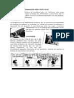 MANIFESTACIONES ARTISTICAS Expresión
