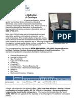 Surface Comparators