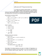 Maths 12-1 a Guide to Advanced Trigonometry