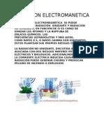 RADIACION-ELECTROMANETICA
