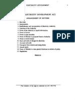 The Electricity Development Act (Jamaica)