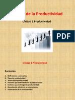 Unidad 1 Productividad